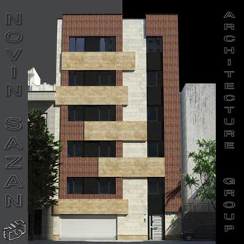 طراحی معماری نمای ساختمان